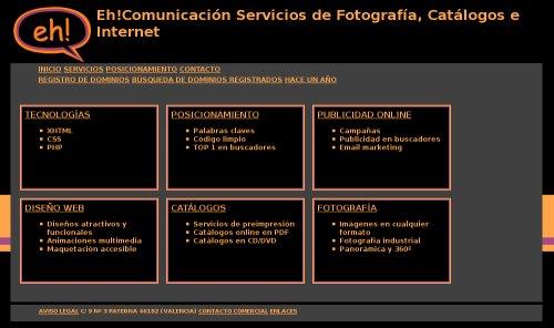 Web de Eh! Comunicación