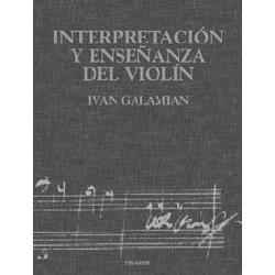 Interpretación y enseñanza del violín