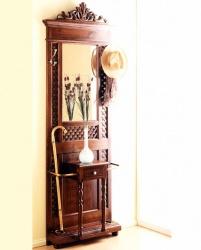 Muebles de recibidor rusticos amazing perchero mueble - Mueble recibidor rustico ...