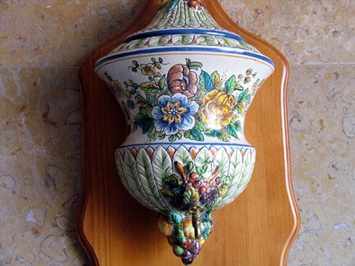 Aguamanil de cer mica valenciana regalo y decoraci n Ceramica artesanal valencia