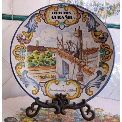 Platos decorativos de cer mica valenciana regalo y Ceramica artesanal valencia
