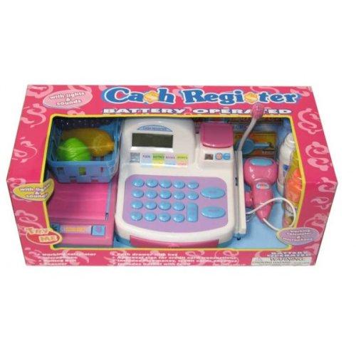 Caja registradora para supermercado juguetes bazar - Caja registradora juguete ...