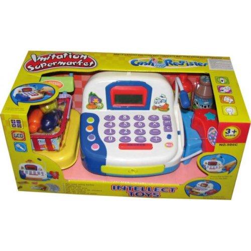 Cajas registradoras de supermercado juguetes bazar - Caja registradora juguete ...